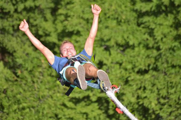 Bungee Jump Mann