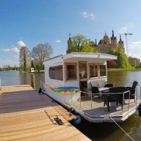 Hausboot: 4 Tage auf dem Schweriner See nur 109€