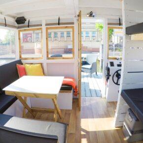 Cosy Hausboot Schweriner See Innen