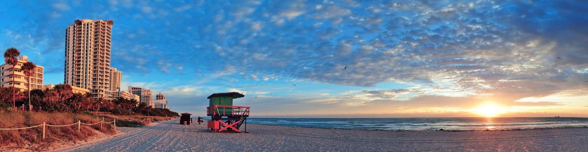 Miami Beach: 8 Tage mit TOP Strandhotel und Flug nur 453€