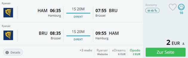 Flüge Brüssel