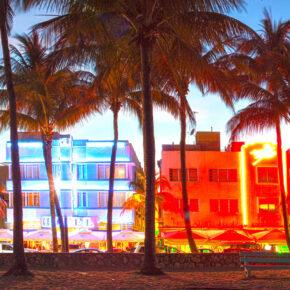 Spring Break Miami Beach: 9 Tage im guten Hostel mit Frühstück & Flug für 608€