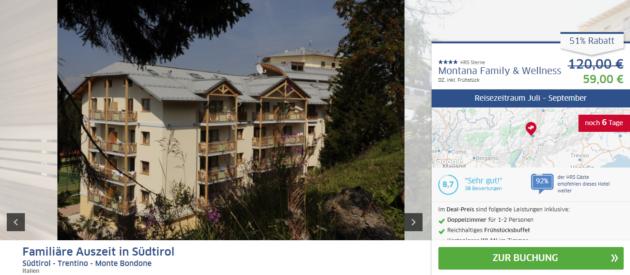 Südtirol Angebot