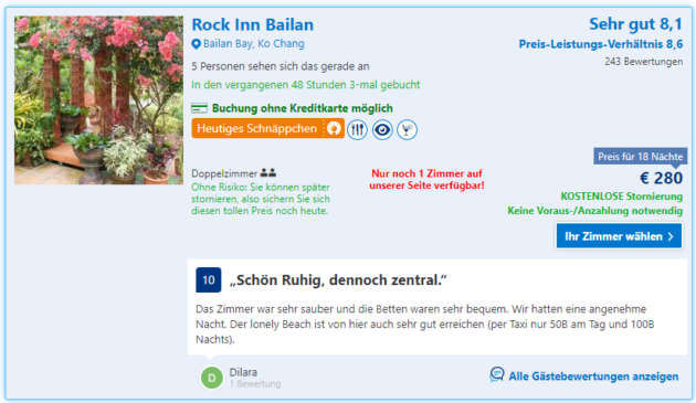 Rock Inn Schnaeppchen