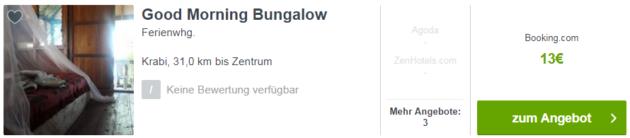 Good Morning Bungalow