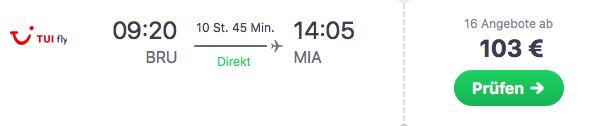 Miami Flug