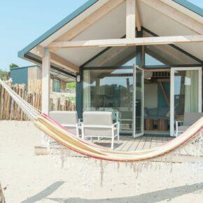 Glamping am Strand: Die schönsten Strandhäuser in Holland