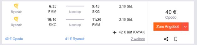 Chalkidiki Flug