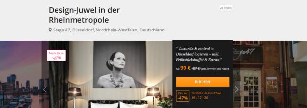 Düsseldorf Städtetrip Angebot