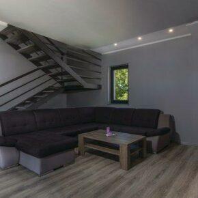 Ferienhaus Wohnraum