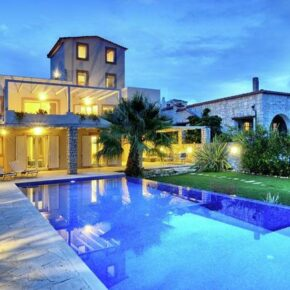 Kreta Luxus-Kracher: 8 Tage im TOP Ferienhaus auf Kreta zur Ferienzeit für nur 155€