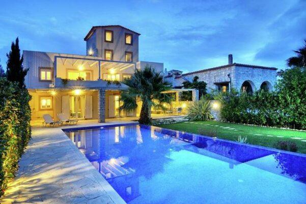Ferienhaus Kreta Dramia Pool