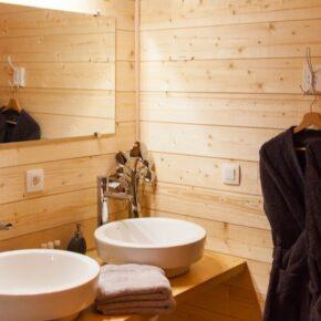 Les Lodges de Babylone Badezimmer