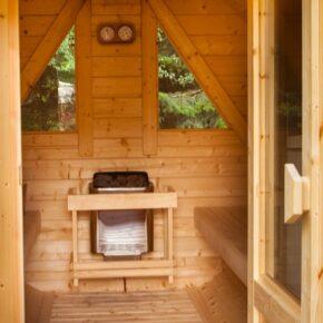 Les Lodges de Babylone Sauna