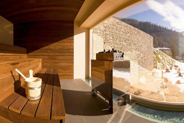 Mountain & Soul Lifestyle Hotel Sauna