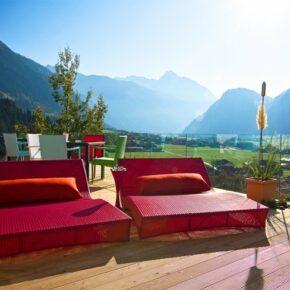 Mountain & Soul Lifestyle Hotel Terrasse