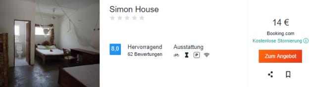 Sansibar Simon House