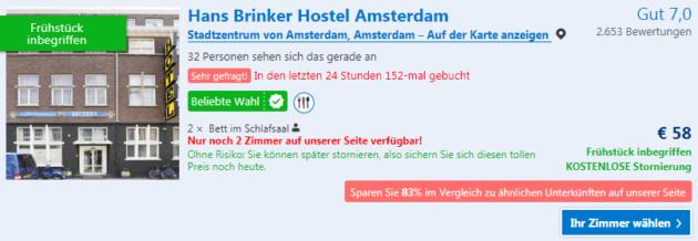 Silvester Amsterdam Angebot