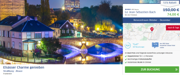 Städtetrip Straßburg Angebot