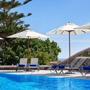Terra Blue Santorini Pool