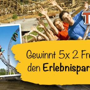 Gewinnspiel: Gewinne 5 x 2 Eintrittskarten für den Erlebnispark Tripsdrill_App