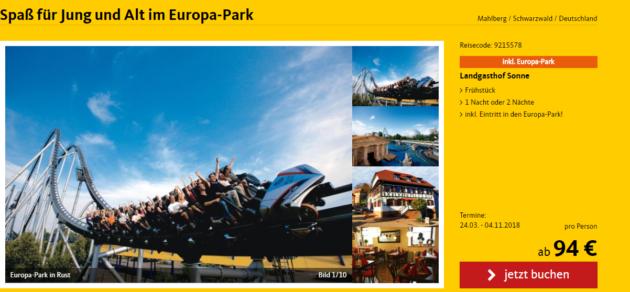 2 Tage Europapark