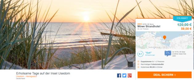 Erholsame Tage auf der Insel Usedom