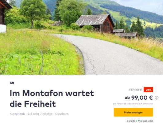 3 Tage Montafon