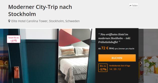 3 Tage Stockholm