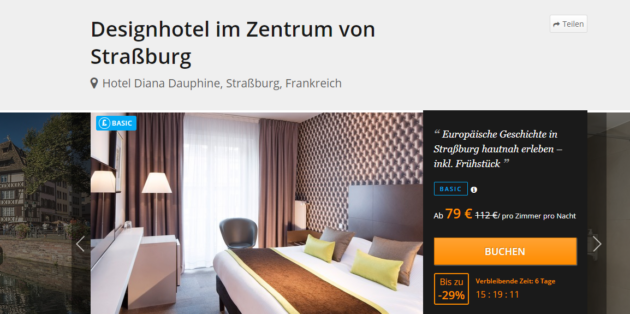 3 Tage Strassburg