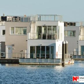 Ostsee: 5 Tage schwimmendes Ferienhaus mit Meerblick für 89€