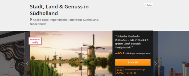 Niederlande Südholland Angebot