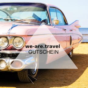 we-are.travel Gutschein - 10% bei der Buchung sparen - auf alles!
