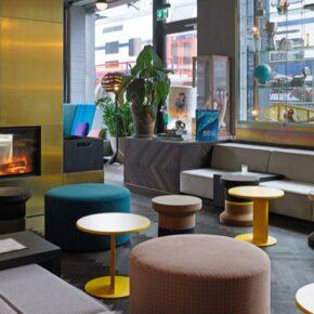 25hours Zürich Lobby