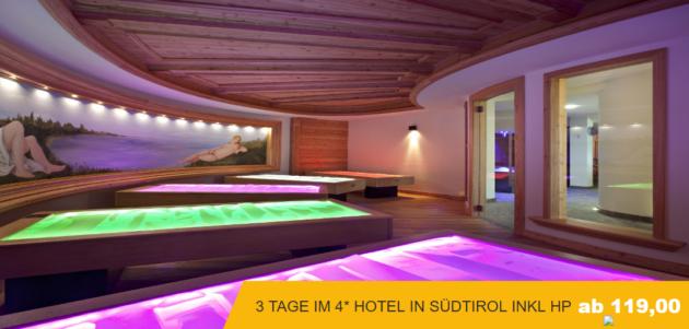 3 Tage Südtirol Halbpension