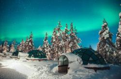 Wochenende: 2 Tage Finnland im speziellen Glas-Iglu im 4* Resort mit Wellness nur 217€