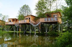 Wochenende in Oberbayern: 2 Tage im coolen Baumhaushotel inkl. Frühstück nur 105€