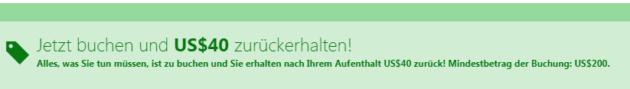 Booking Gutschein