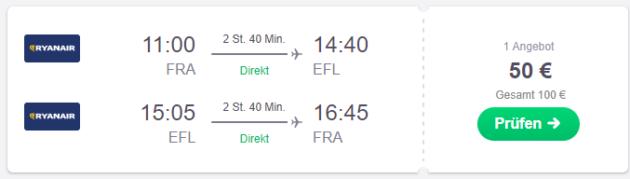 Frankfurt nach Argostoli