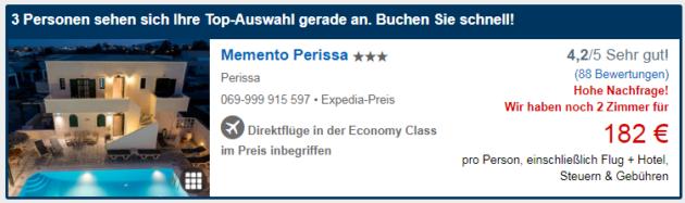 Santorini Deal