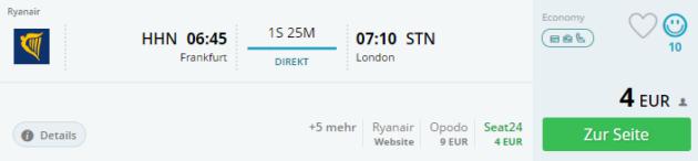 Hahn nach London