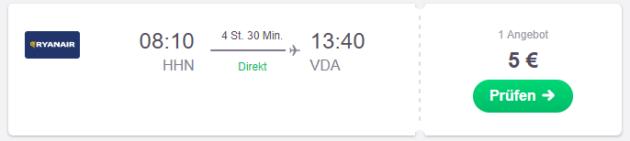 Hahn nach Ovda