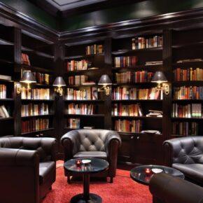 Kempinski Hotel Das Tirol Bibliothek