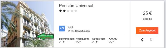 Pension Valencia