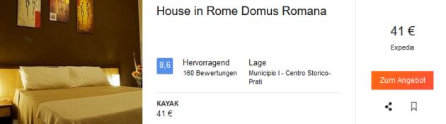 Rom Unterkunft Angebot
