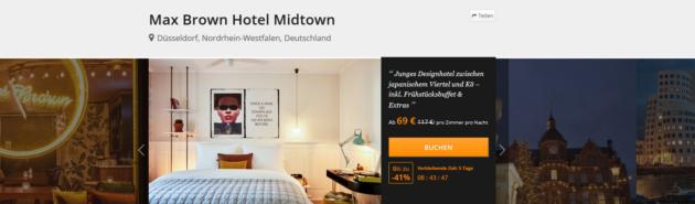 Städtetrip Düsseldorf Angebot