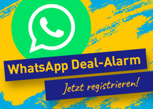 Urlaubstracker WhatsApp Deal-Alarm