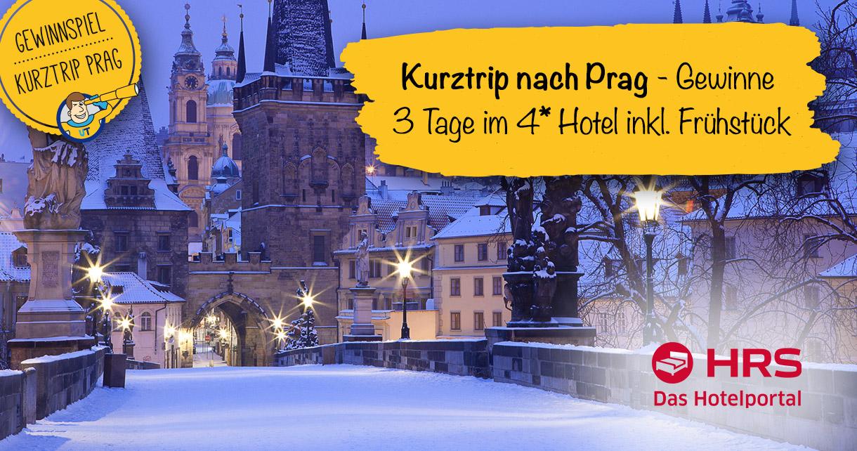 Prag Städtereise Gewinnspiel