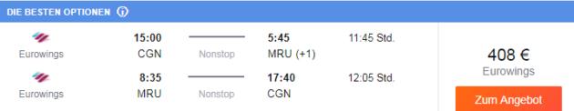 21 Tage Mauritius