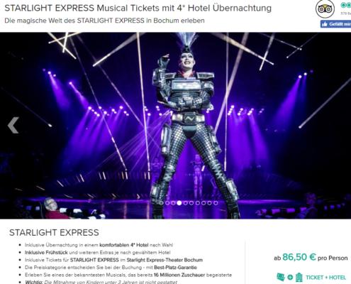 2 Tage Starlight Express